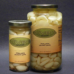 Italian Pickled Garlic