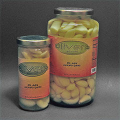Plain Pickled Garlic
