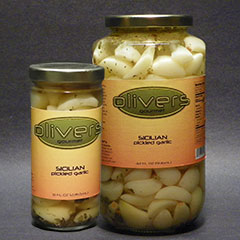Sicilian Pickled Garlic