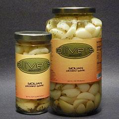 Sicilian Pickled Garlic