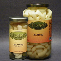 Jalapeno Pickled Garlic